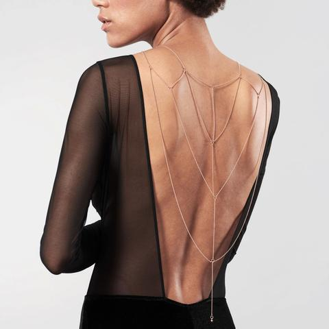 Back cleavage chain