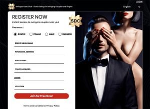 SDC website sign-in page